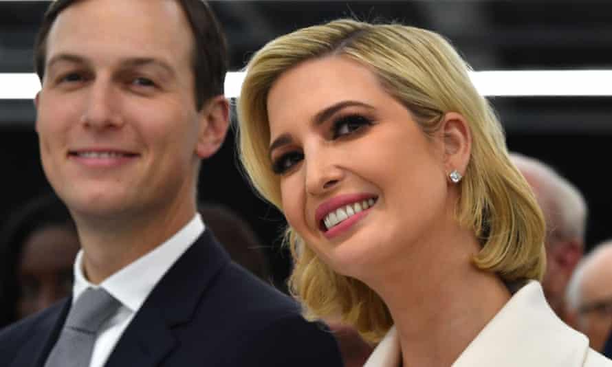 Ivanka Trump and Jared Kushner in October 2019