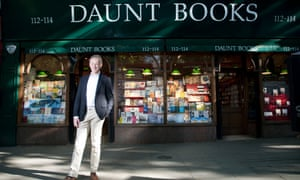 James Daunt ran an independent chain of six bookshops in London called Daunt Books.