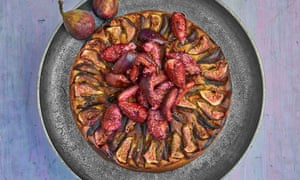 Yotam Ottolenghi's fig, yogurt and almond cake