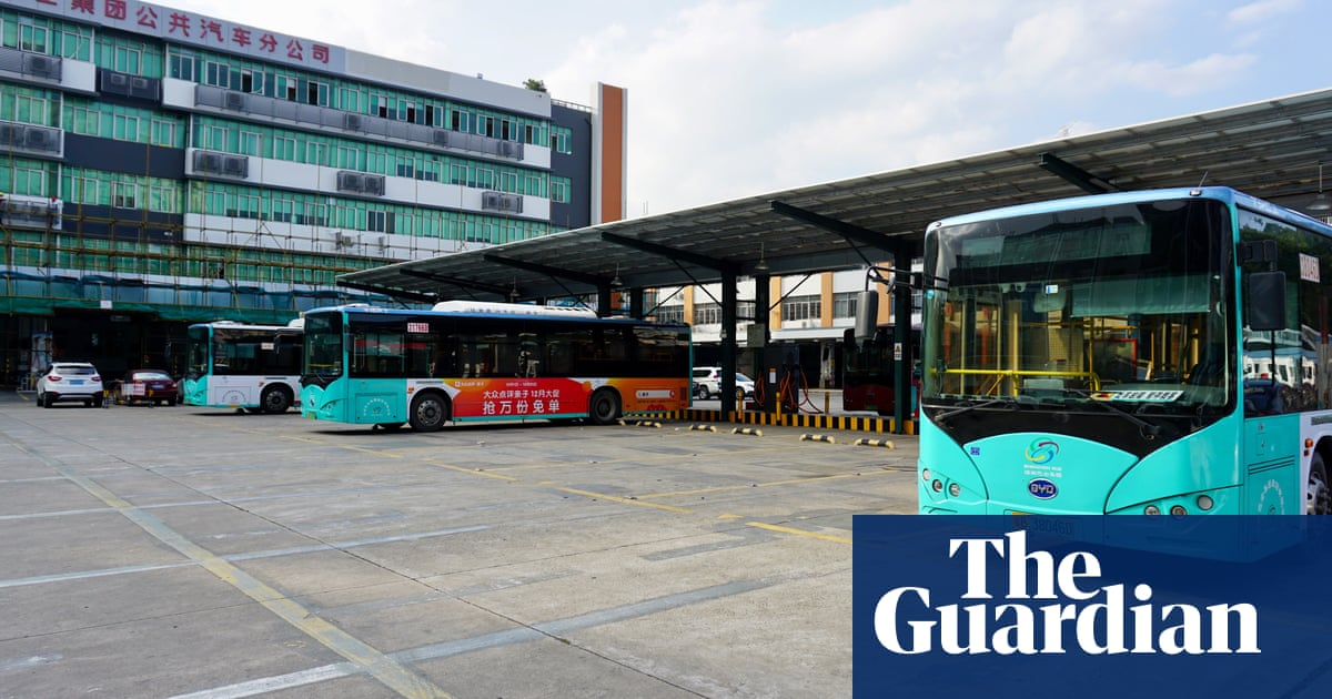 Shenzhen's silent revolution: riding the world's first fully electric bus fleet - The Guardian