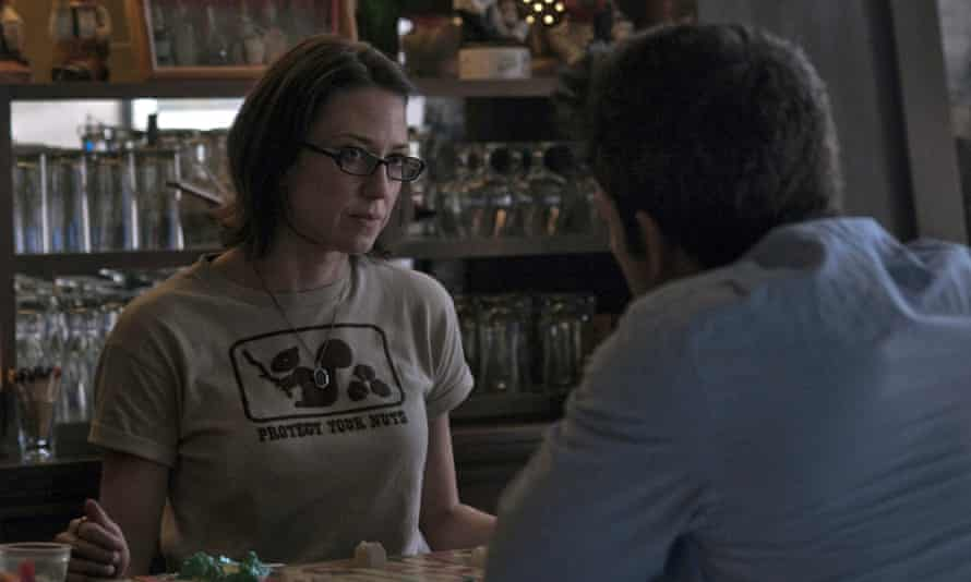 Carrie Coon as Margo Dunne in the 2014 film of Gone Girl.