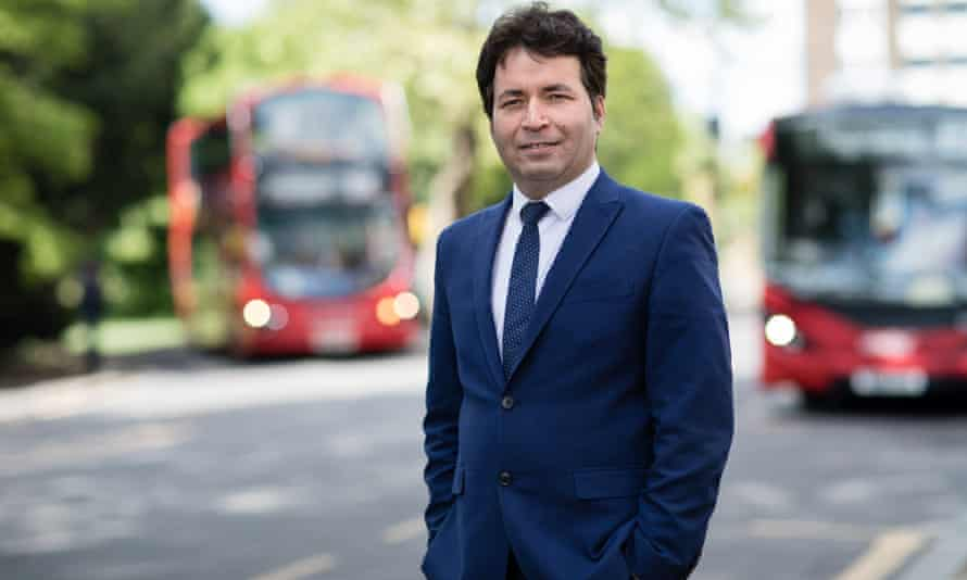 Dr Mohammad Haqmal said he is hoping to work in the public health sector in the UK