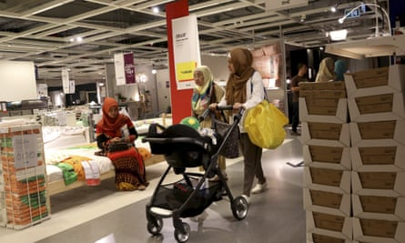 The Ikea store in Tangerang, Indonesia.