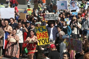 Wellington, New Zealand  The protest in New Zealand is part of a second wave of protests around the world