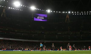 Sokratis Papastathopoulos's late 'winner' for Arsenal against Crystal Palace in October is ruled out following the intervention of VAR.