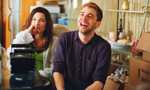 Xavier Dolan with Anne Dorval on the set of Mommy