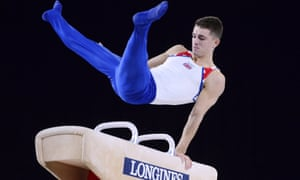 Will Britain's Max Whitlock strike gold at the world artistic gymnastic championships in Qatar?