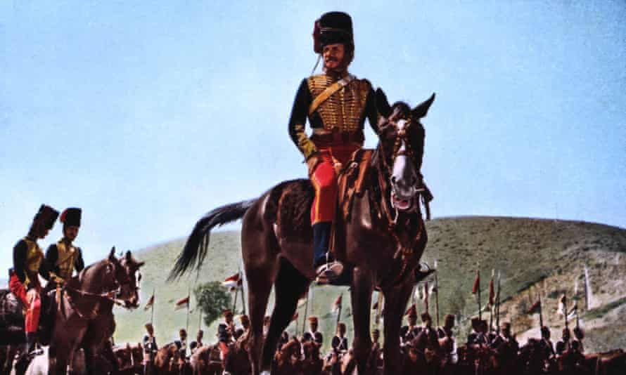 Charles Wood wrote the screenplay for The Charge of the Light Brigade, whose cast included Trevor Howard.