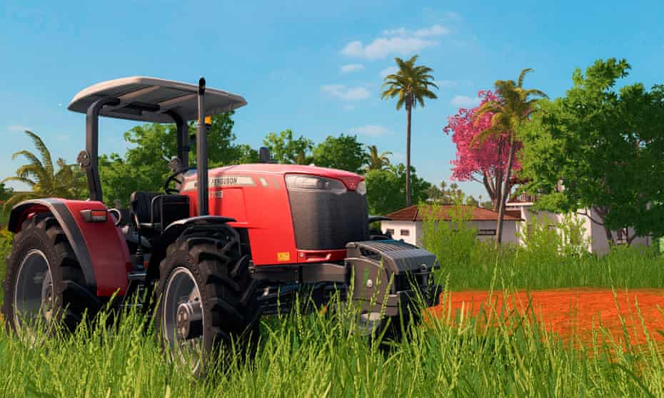 Farming Simulator has around a million users – Giants Software estimates that as many as a quarter of players are connected to agriculture.