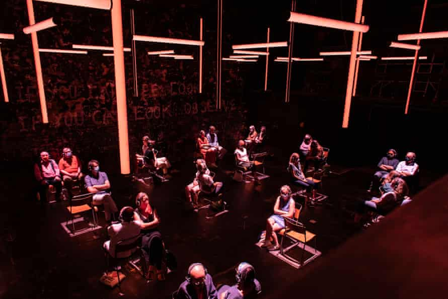 Blindness in the Donmar Warehouse.