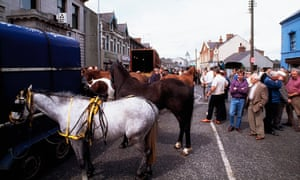 The May Fair in Ballyclare, Co Antrim, Northern Ireland.