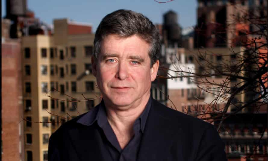 Jay McInerney at home in Manhattan: wisdom and wistfulness