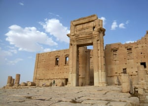 The Temple of Bel in 2010. More than 150,000 tourists visited Palmyra every year before the Syrian conflict erupted in 2011.