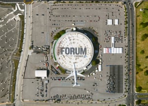 LA Forum – Inglewood, California This county-operated location opened on January 19 and is capable of administering up to 18,000 vaccines per day