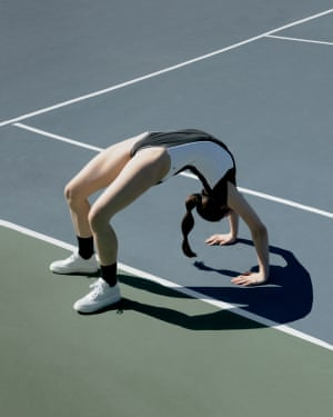 Amy Harrity is an LA photographer who addresses the aesthetic of female strength