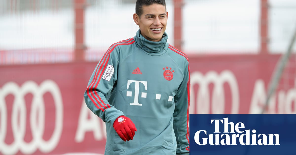 factory price 849cb af90e Football transfer rumours: Arsenal to secure James Rodríguez ...