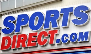 Sports Direct store sign