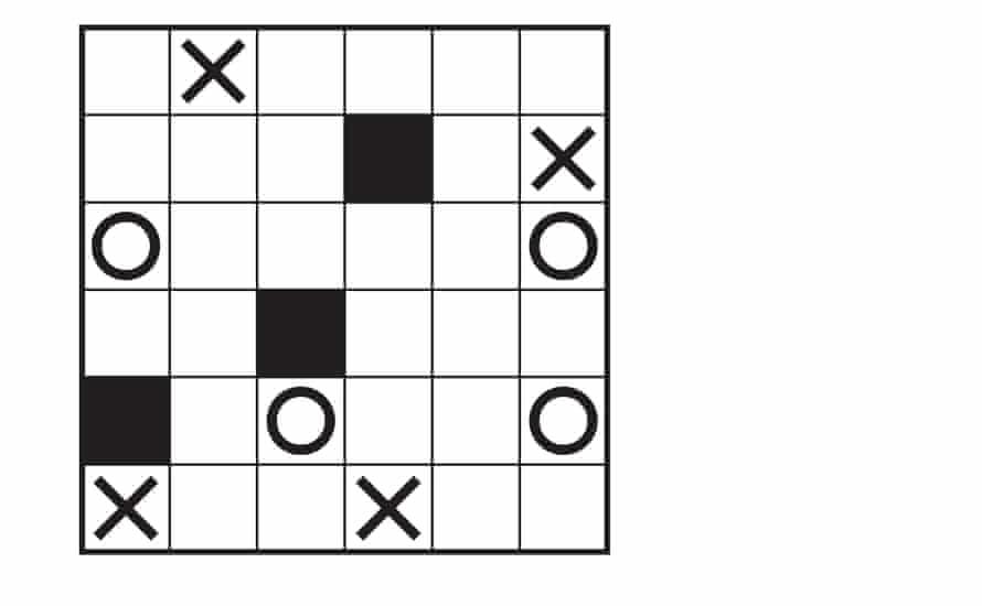 Marupeke puzzle 1