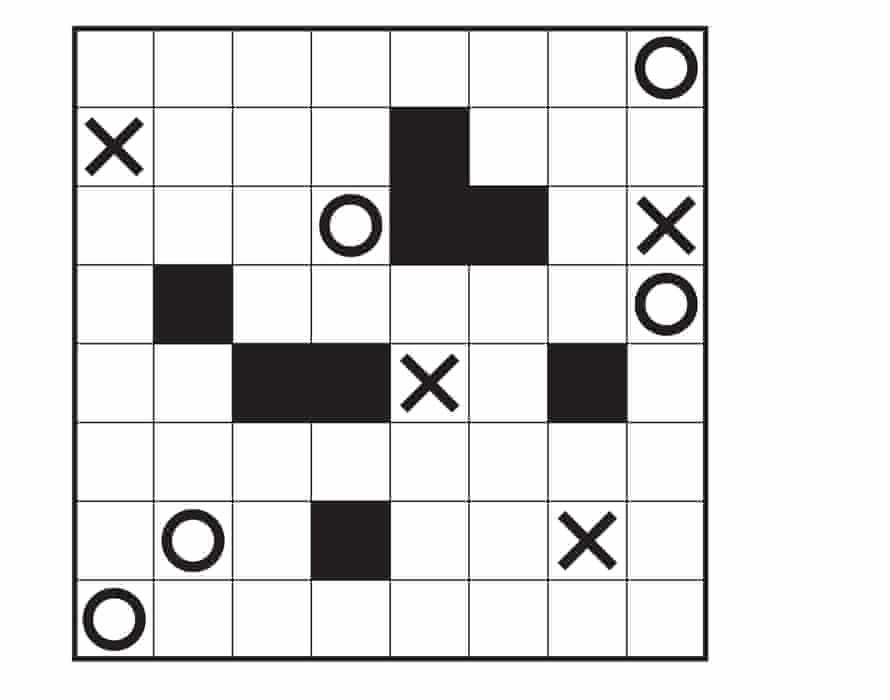 Marupeke puzzle 3