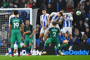Brighton's Glenn Murray concedes a penalty