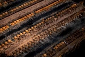 Coal ovens in Maranhão on November 29, 2011.