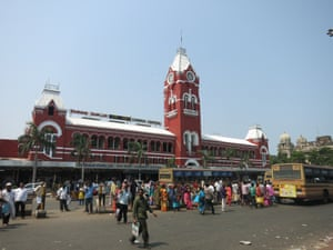 Chennai's 1873 central railway station remains s superbly efficient transit hub.