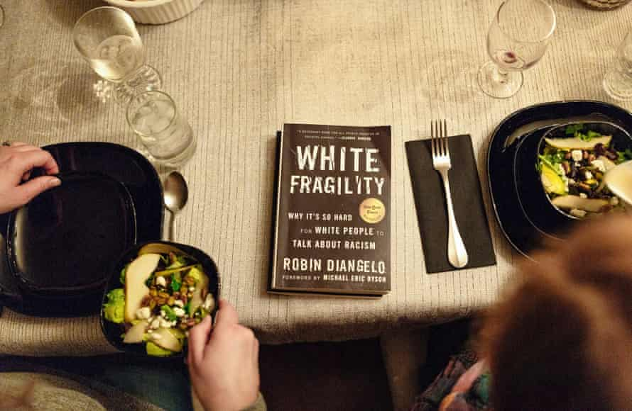 A copy of the book White Fragility. The participants are required to read it before attending the dinner.