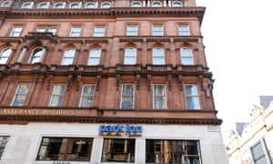 The Park Inn, in central Glasgow, which housed asylum seekers.