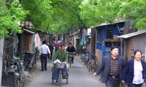 In Beijing, many neighbourhoods were formed by joining one courtyard to another to form a hutong.