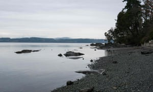 A view of Vancouver Island, British Columbia, Canada, this week.