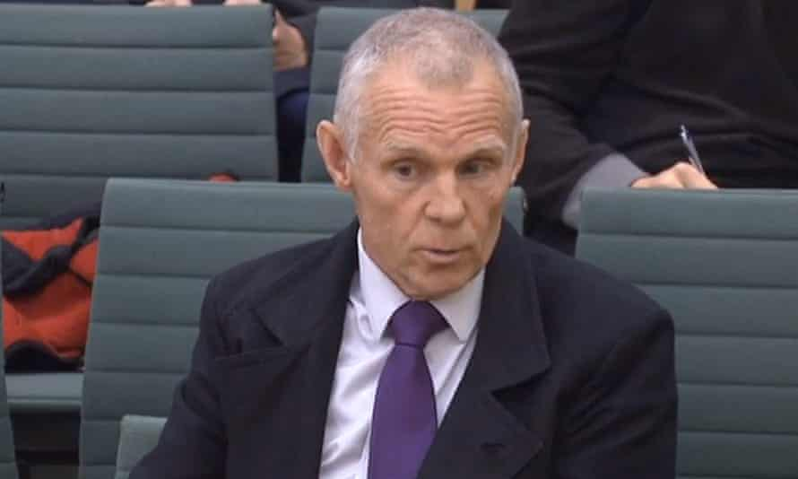 Cycling coach Shane Sutton gives evidence to the Culture, Media and Sport select committee.