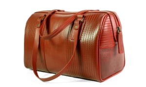 Elvis & Kresse bag made from decommissioned firehoses. LEATHER JACKETS AND BOXER SHORTS