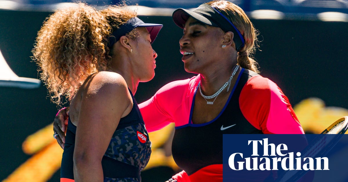 Naomi Osaka into Australian Open final as Serena Williams makes tearful exit