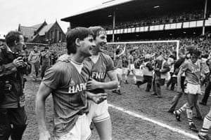 Everton clinched their eighth league title in 1985.