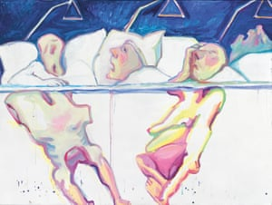 Maria Lassnig Under The Skin Art And Design The Guardian