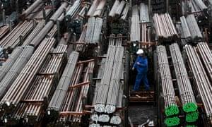Steel mill in Meitingen, Germany