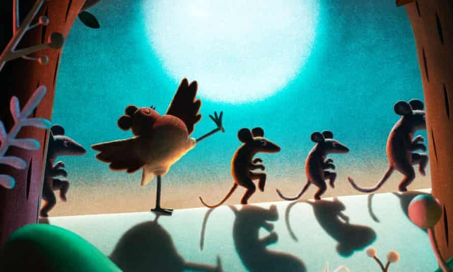 Animated antics … Robin Robin.