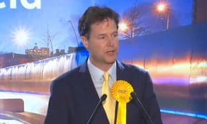 Nick Clegg loses the Lib Dems' Sheffield Hallam seat to Labour
