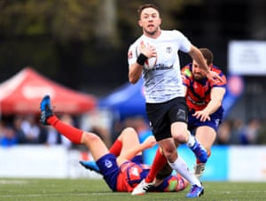 Ryan Brierley in action for Toronto Wolfpack.