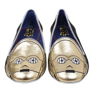 C-3PO flat shoes, £110