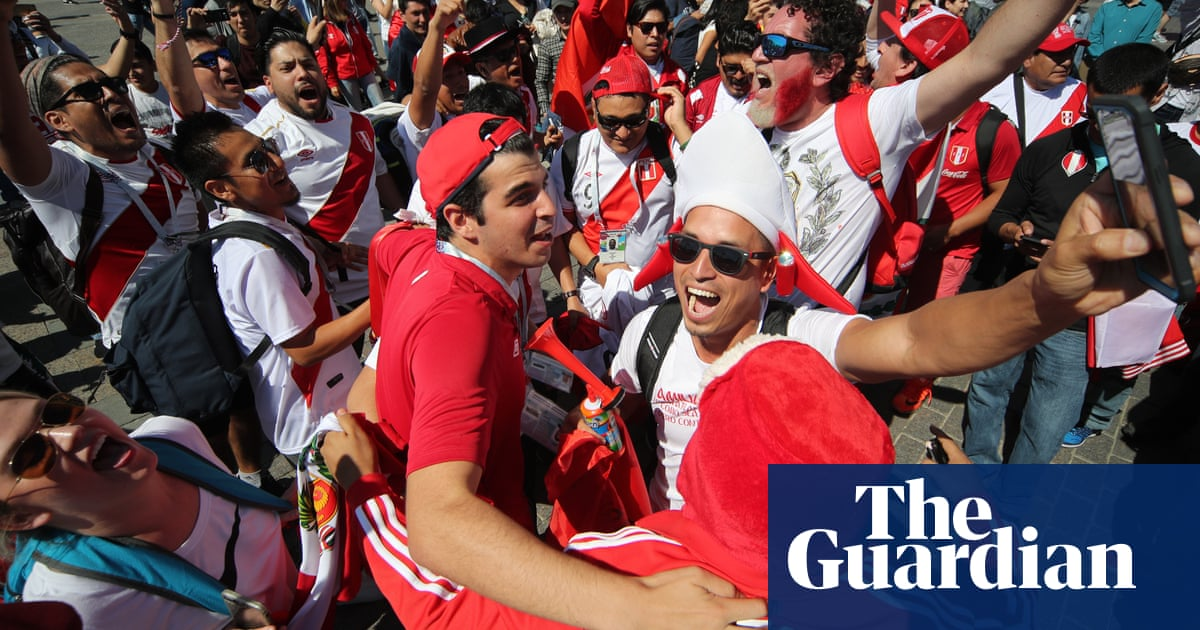 1b05942e8d7 Heard the one about the Peru fan who put on 24kg to get a World Cup ticket