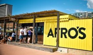 Afro's chicken shop.