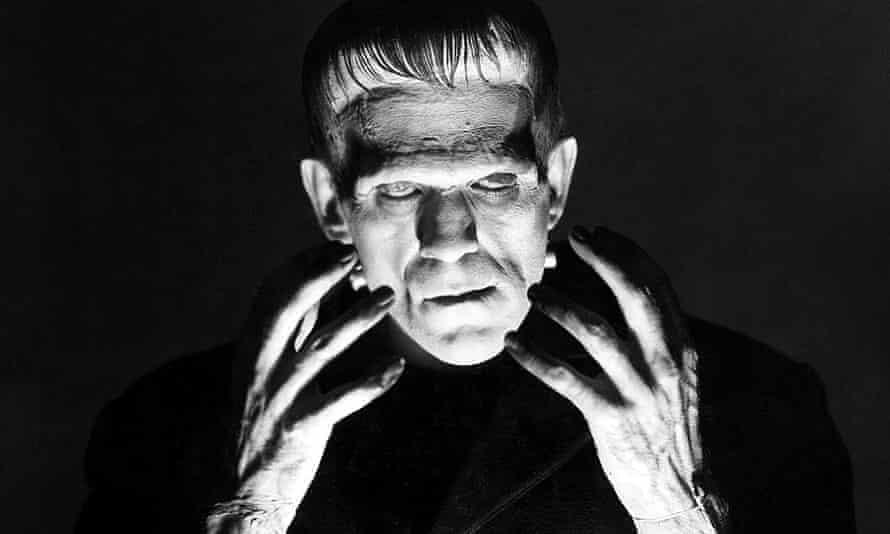 The creation … Boris Karloff in Frankenstine (1931), directed by James Whale. Photograph: Allstar/Universal