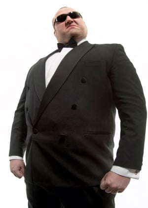 Here to help … your friendly venue bouncer.