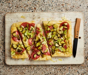 Robert Czarniak, Ottolenghi's baker, is the creator of this Polish-style pizza.
