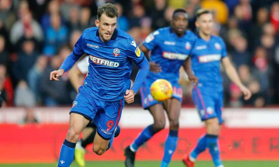 Christian Doidge has made 17 appearances on loan for Bolton who have 'paid literally nothing for him' according to Forest Green chairman Dale Vince.