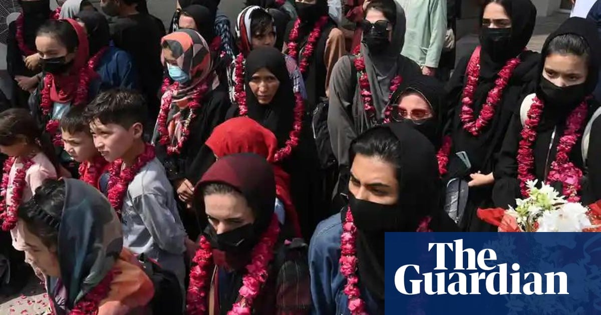 Afghanistan's junior female football team to relocate to UK