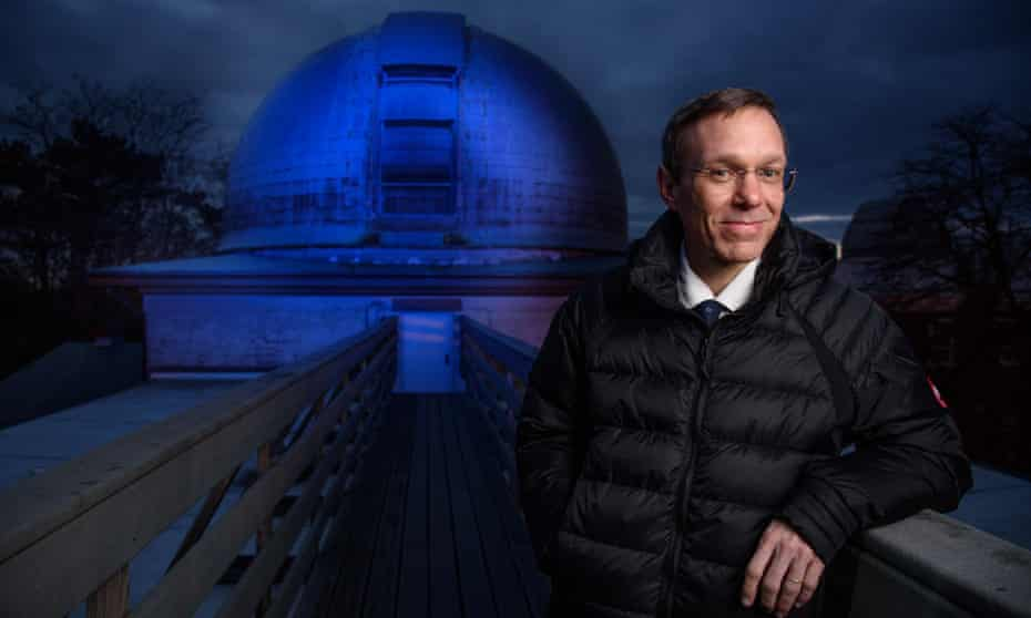'I rule out possibilities and whatever looks the most plausible is what I put out. That's the way science is done. You just collect more evidence': Avi Loeb at the Harvard-Smithsonian Center for Astrophysics.