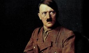 a portrait of Adolf Hitler, circa 1930s.