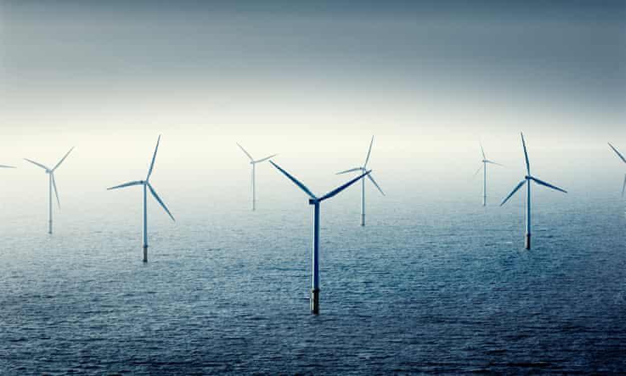 Wind farm at sea<br>GettyImages-1133007846 Wind Farm